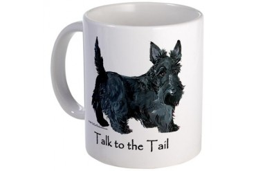 Scottish Terrier Attitude Mug