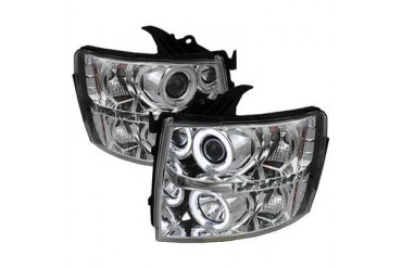 Spyder Auto Group CCFL LED Projector Headlights 5033871 Headlight Replacement