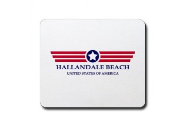 Hallandale Beach Pride Florida Mousepad by CafePress