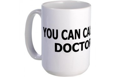 Call Me Doctor Large Mug