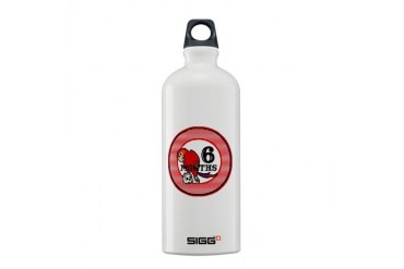 Pirate 6 Months Milestone Baby Sigg Water Bottle 0.6L by CafePress