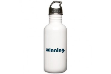 Winning Funny Stainless Water Bottle 1.0L by CafePress