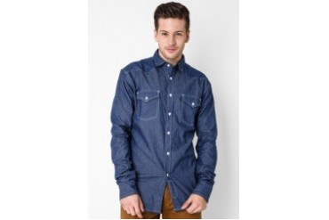 Travis Jeans & Co Chambray Shirt II