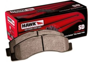 1999-2004 Ford F-350 Super Duty Brake Pad Set Hawk Ford Brake Pad Set HB302P.700 99 00 01 02 03 04