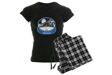 The Polar Express Women's Dark Pajamas