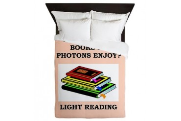 photon Funny Queen Duvet by CafePress