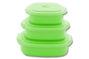 6pc Microwave Cookware - Lime