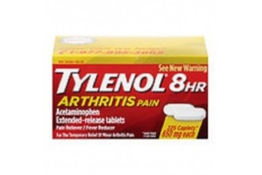 Tylenol 8 Hour Arthritis Pain 225 Caplets Bottle