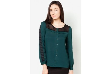 DressingPaula Long Sleeve Top With Details