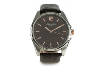 Kenneth Cole Mens IKC5163 Silver/Brown Watch