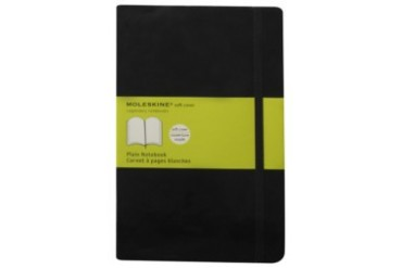 Classic Soft Plain Notebook Large