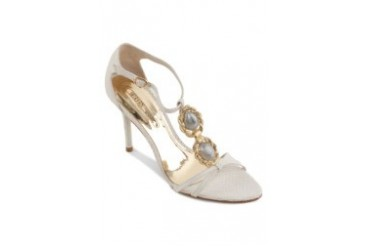 Satryani by Shoeville Heels with Stones