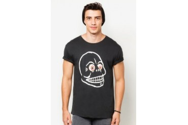 Cheap Monday Staring Skull Tor Tee