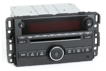 Pontiac Torrent 2008 Radio AM FM 6 Disc CD w Aux Input 25887902 Unlocked