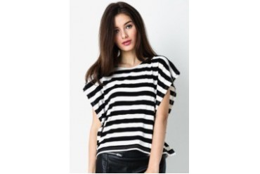 Ninety Degrees Stripes Lullaby Tee