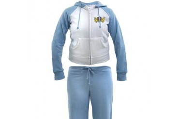 OES Lion Crest Fantasy Women's Tracksuit by CafePress