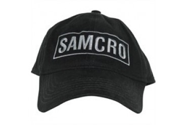 Sons of Anarchy Boxed SAMCRO Logo Embroidered Flexible Hat