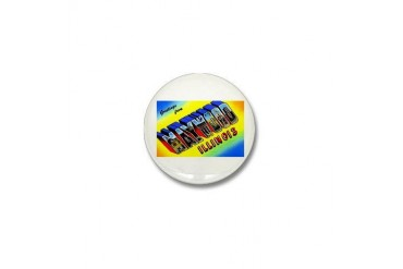 Maywood Illinois Greetings Vintage Mini Button by CafePress