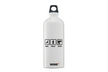 Astronaut Family Sigg Water Bottle 0.6L by CafePress