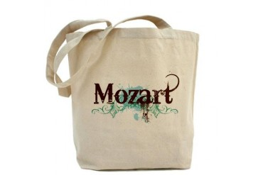 Cool Grunge Mozart Music Music Tote Bag by CafePress