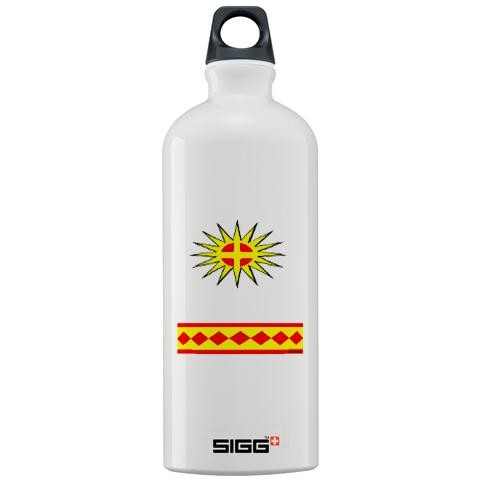 ec5a8520d8 CHEROKEE INDIAN Native american Sigg Water Bottle 1.0L by CafePress ...