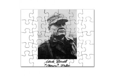 Chesty Puller w text Usmcfp Puzzle by CafePress