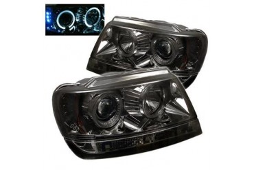 Spyder Auto Group Halo LED Projector Headlights 5011169 Headlight Replacement