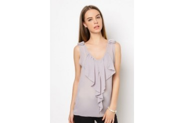 Another Sleeveless Ruffle Top