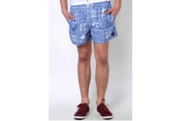 Native Youth PALM BANDANA SWIM SHORTS