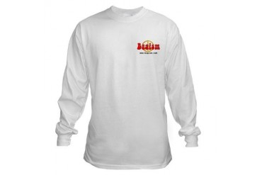 Long Sleeve Shirt White Long Sleeve T-Shirt by CafePress