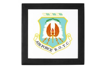 Air Force ROTC Military Keepsake Box by CafePress