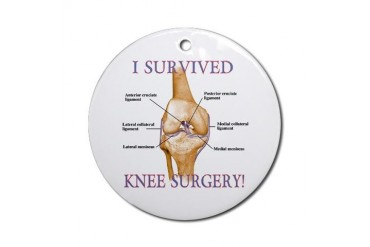Knee Surgery Gift 2 Ornament (Round)