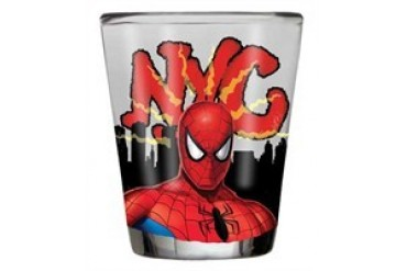 Marvel Comics Spider-Man NYC Shot Glass