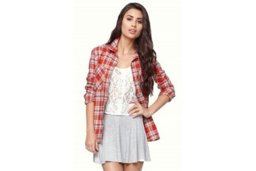 Womens Vans - Vans Obsession Flannel Shirt