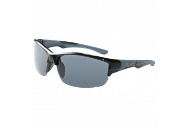 Victory-shiny Blacke Frame With Grey Rubber With Smoke Polarized Lens