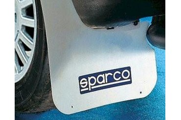 Sparco White Universal Rally Mud Flaps