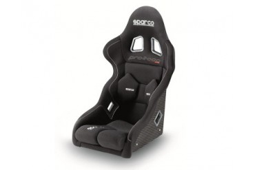 Sparco Black Pro 2000 Competition Racing Seat wCarbon Fiber Shell