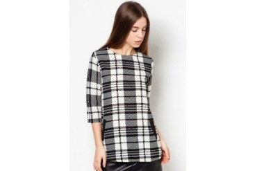 Another Cheque Pocket Blouse