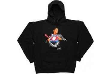 Barack Obama Super Obama Hooded Sweatshirt by Alex Ross