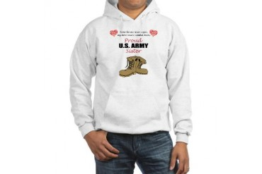 Proud US Army Sister Hooded Sweatshirt