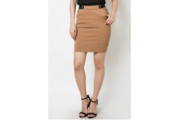 Skirt with Front Details