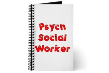 Psych Social Worker Humor Journal by CafePress