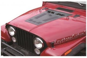 Hyline Offroad Louvered Hood Panel 100.500.110 Hood Vent