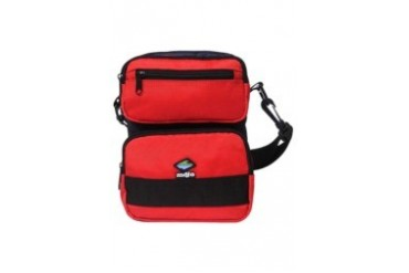Navy Blue & Red Safety Sac bag