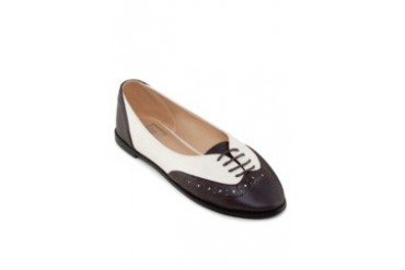 Te Chi-Chi Perforated Flat Oxford Shoes
