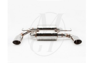 Meisterschaft Stainless GTS Ultimate Exhaust 2x120x80mm Infiniti G37 Coupe Convertible 08