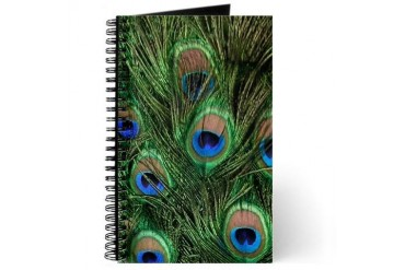 Peacock Feathers Journal