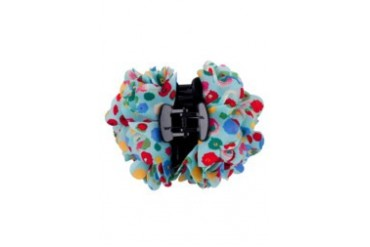 Multi Flower Printed Shark Clip