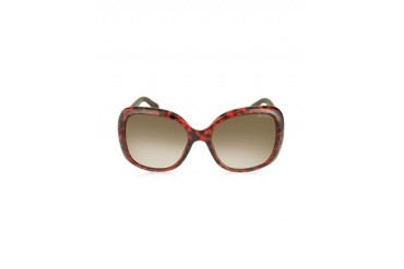 WILEY/S BMFPG Burgundy Havana Oversize Sunglasses