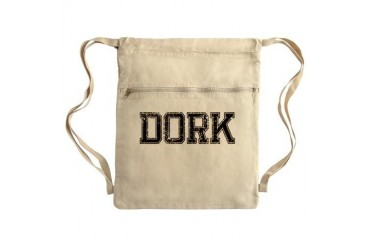 DORK, Vintage Sack Pack Geek Cinch Sack by CafePress